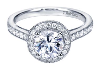 Gabriel & Co. - Engagement Ring