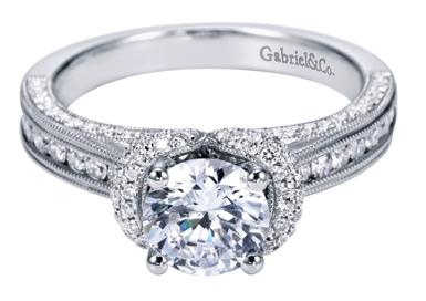 Gabriel & Co. - Engagement Ring