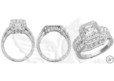 Gordon Clark - Diamond Engagement Ring