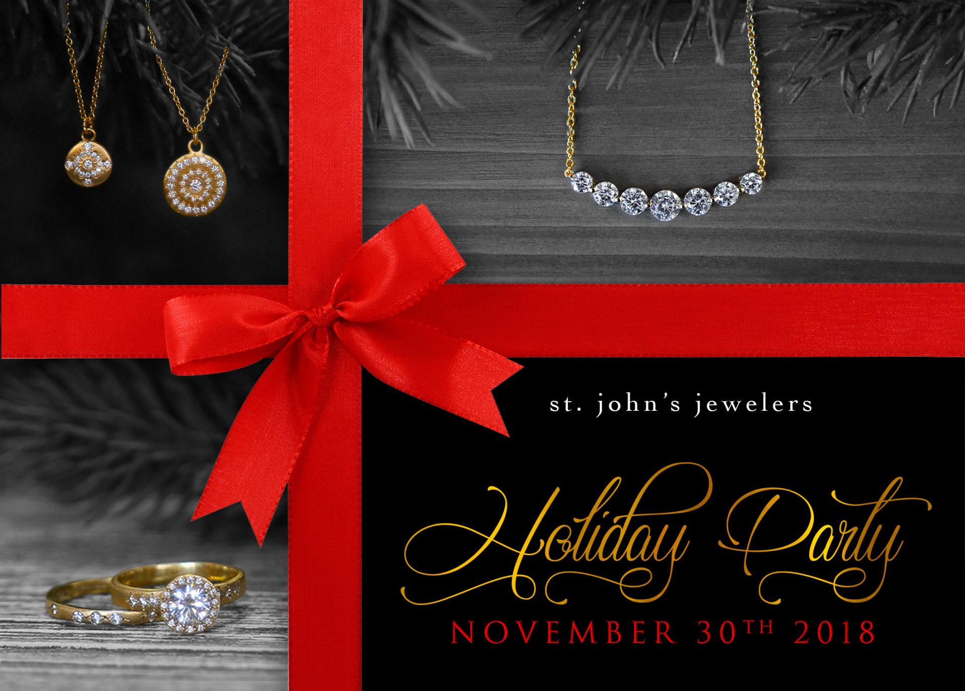 Holiday Party | St. John's Jewelers
